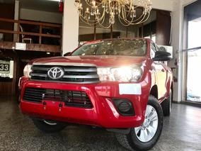 Toyota Hilux 2.8 Tdi D/c Sr 4x4 Caja 6ta Mt 0km , Anticipo $