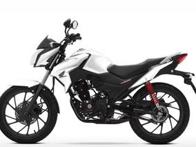 Honda Cb 125f Twister 0 Km 2018 Moto Sur Blanca Roja Negra