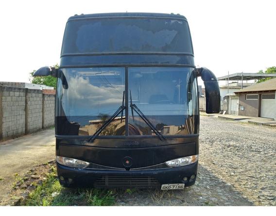 Onibus Volvo B10m 6x2 1993 37 Lugares Com 20 Poltronas Leito