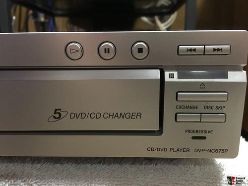 Sony Dvp-nc675p Reproductor De 5 Dvd Cd Changer
