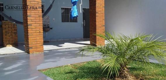 Edícula Com 1 Dormitório À Venda, 70 M² Por R$ 150.000 - Bela Vista - Itapuí/sp - Ed0012