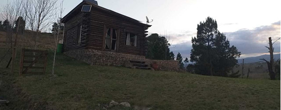 Cabaña De Troncos, Autosustentable, Villa Yacanto, Cordoba