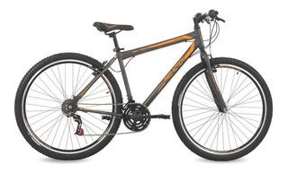 Bicicleta Free Action Flexus 1.0 Aro 29 21v Grafite/laranja