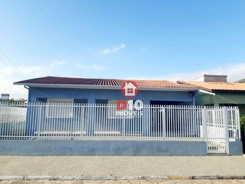 Casa Com 3 Dormitórios À Venda, 140 M² Por R$ 390.000,00 - Centro - Balneário Arroio Do Silva/sc - Ca1772