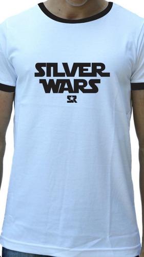 Camiseta S R Silver Wars