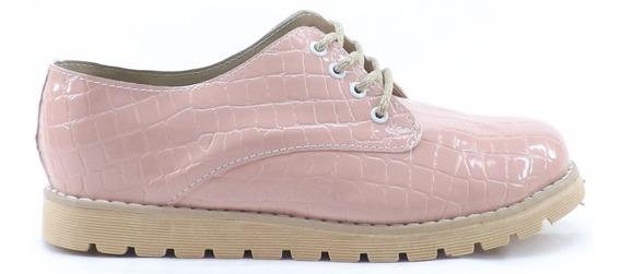 Zapatos Mujer Acordonados Media Estacion Liquidacion 810