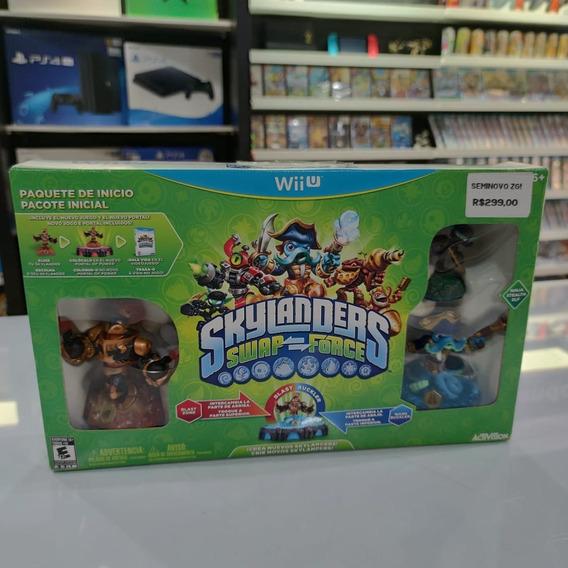 Skylander Swap Force Starter Pack Nintendo Wii U Seminovo