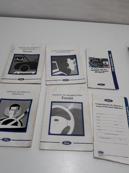 Manual Do Proprietário Ford Escort Orig. Perfeito
