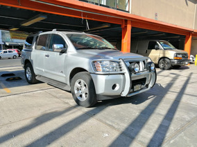 Nissan Armada 5.6 Se Piel Qc 4x4 At Blindaje Niv 3