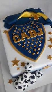 Tortas Decoradas ! Equipos De Futbol , River , Boca , Etc