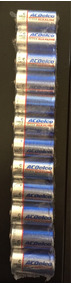 Pilhas Alcalinas Acdelco Média C. Lote Com 12 Unidades