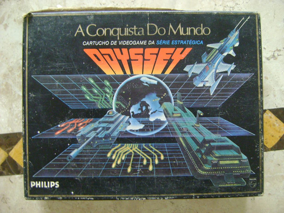 A Conquista Do Mundo Jogo Videogame Odyssey