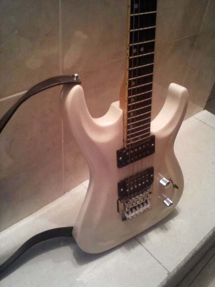 Guitarra Electrica Blanca Marca D