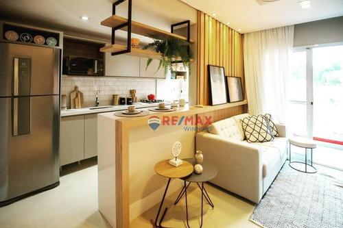 Imagem 1 de 16 de Apartamento Com 2 Dormitórios À Venda, 65 M² Por R$ 194.000,00 - Centro - Santa Bárbara D'oeste/sp - Ap0011