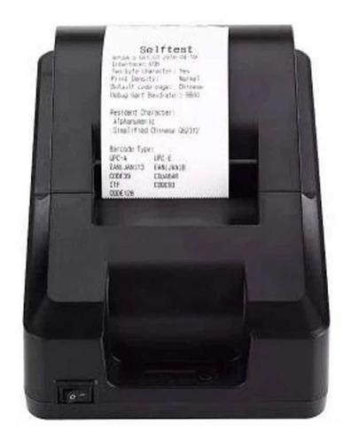 Imagem 1 de 1 de Impressora Térmica De Cupom Não Fiscal Exbom Usb Ite-t58k