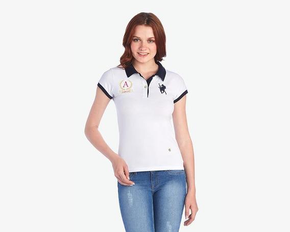 Playera American Polo Blanca Pr-3020632