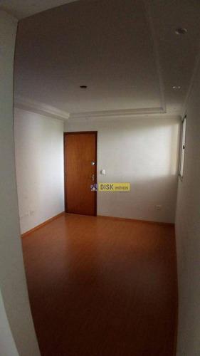 Apartamento Com 2 Dormitórios À Venda, 50 M² Por R$ 215.000,00 - Alves Dias - São Bernardo Do Campo/sp - Ap2231
