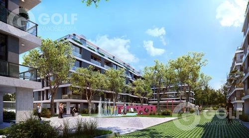 Vendo Apartamento De 1 Dormitorio Con Terraza, Garaje Opcional, Barbacoas, Punta Gorda