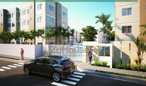 Apartamento En 3er Nivel En Planos En La Barranquita Wpa56 C