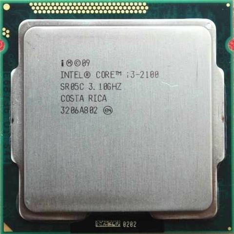 Processador Intel Core I3-2100 + Cpu Cooler Original