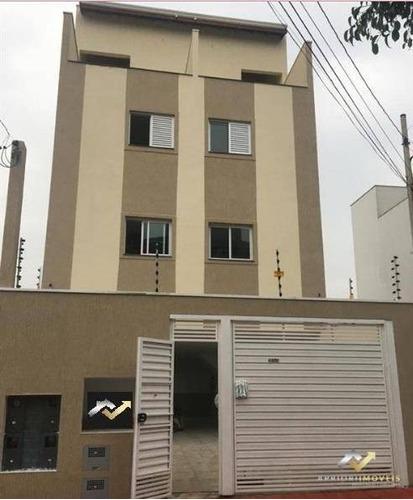 Cobertura Com 2 Dormitórios À Venda, 75 M² Por R$ 310.000,00 - Vila América - Santo André/sp - Co0711