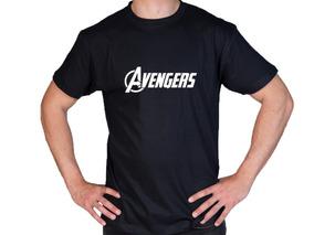 Camiseta Estampada Avengers