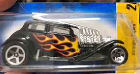 Hot Wheels 2007 First Edition Straight Pipes Preto
