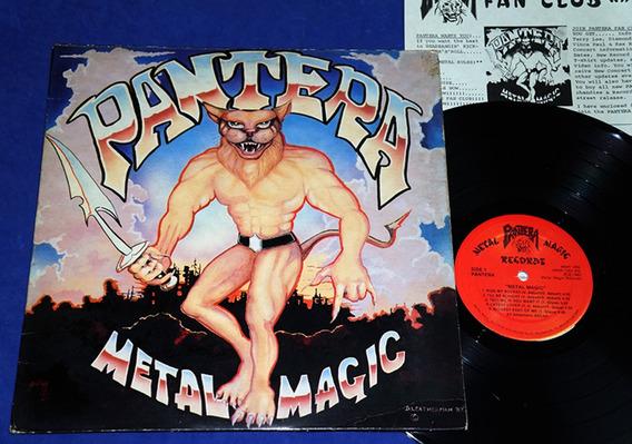 Pantera - Metal Magic - Lp Translúcido - Original 1983 - Usa