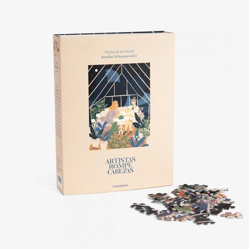 Imagen 1 de 4 de Puzzle Artistas Rompecabezas - Invernadero - Ed. Monoblock