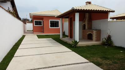 Casa Em Itaipuaçu Com 2 Quartos E Churrasqueira - 424
