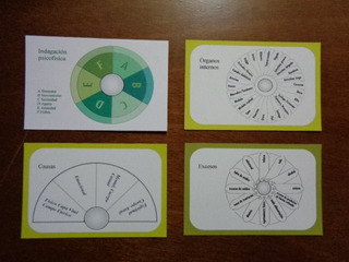 Tarjetas De Radiestesia Para Pendulo P/salud 15 Piezas