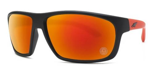 Gafas de sol Arnette 4225 Espejo Rojo Negro Burnout 23766Q Fuzzy