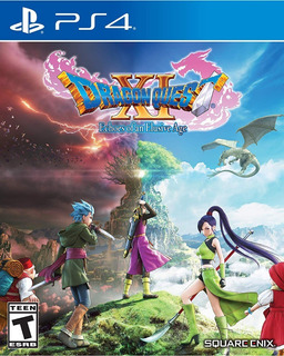 Dragon Quest Xi: Echoes Of An Elusive Age Ps4 Nuevo Sellado