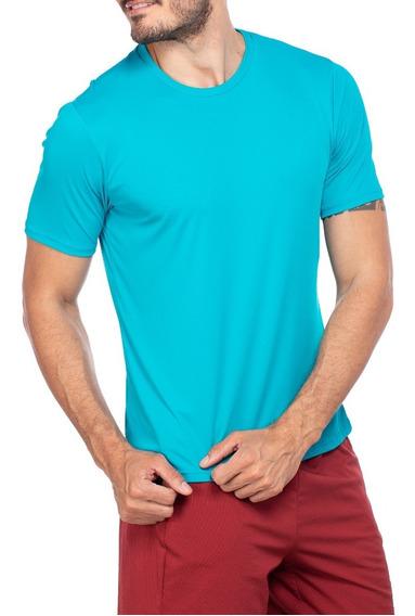 Camiseta Dry Fit Poliamida Fitness Com Proteção Uv50+