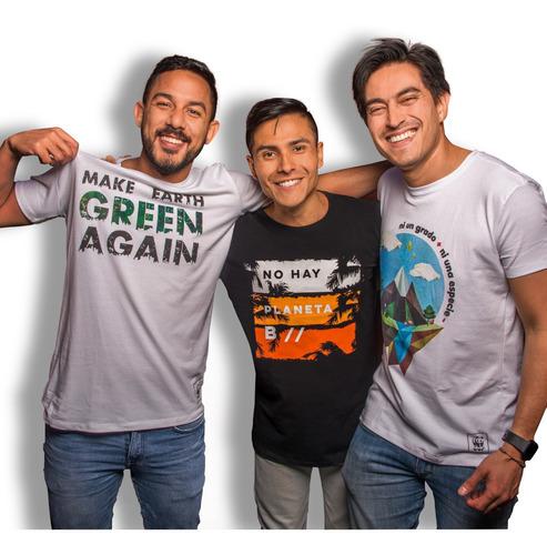 Imagen 1 de 3 de Camiseta Ecológica Wwf Colombia Hombre