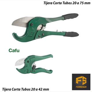 Tijera Corta Tubos 20 A 75 Cafu + Tijera Corta Tubos 20 A 42