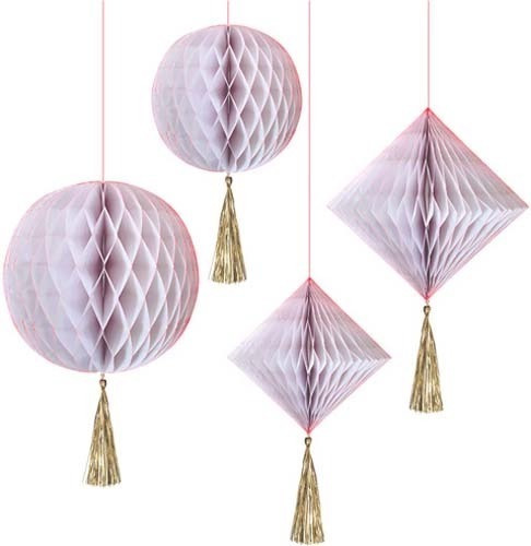 Kit Decorativo Rosa Marca Meri Meri Party