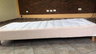 Somier S/colchón 1 Plza.