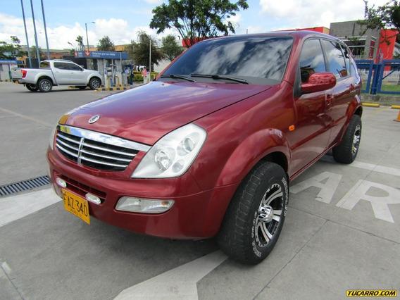 Ssangyong Rexton 2900cc Mt 4x4 Diesel