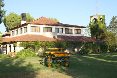 Espectacular Casa De Campo En Buenos Aires 38 Has, Amoblada