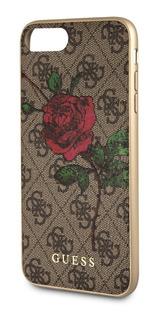 Funda Case Guess Rosas Cafe iPhone 6,7,8 Plus Original