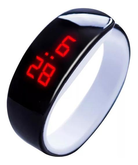 Relógio Masculino Feminino Led Digital Pulseira Bracelete