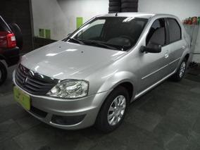 Renault Logan 1.0 16v Expression Hi-flex Completo Prata 2012