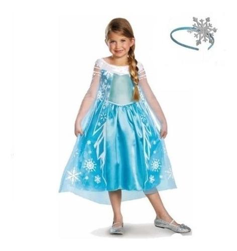Disfraz Elsa Frozen Original C/corona  -   Giro Didáctico