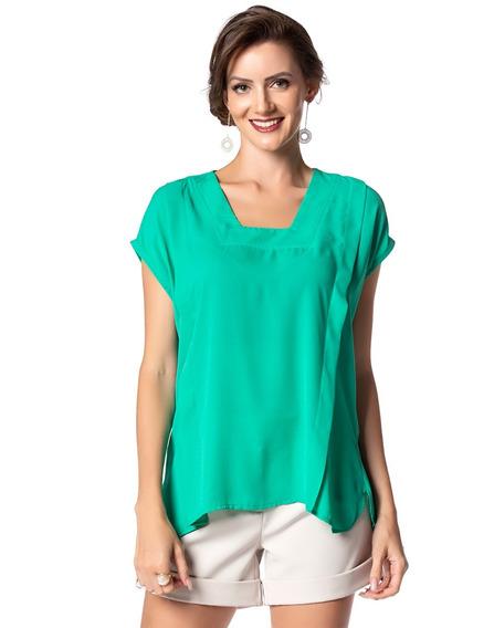 Kit Blusa Feminina Camiseta Verão Atacado 3 Pçs (05893)