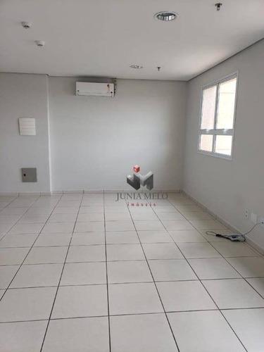 Imagem 1 de 6 de Sala Para Alugar, 49 M² Por R$ 1.300/mês - Nova Ribeirânia - Ribeirão Preto/sp - Sa0207