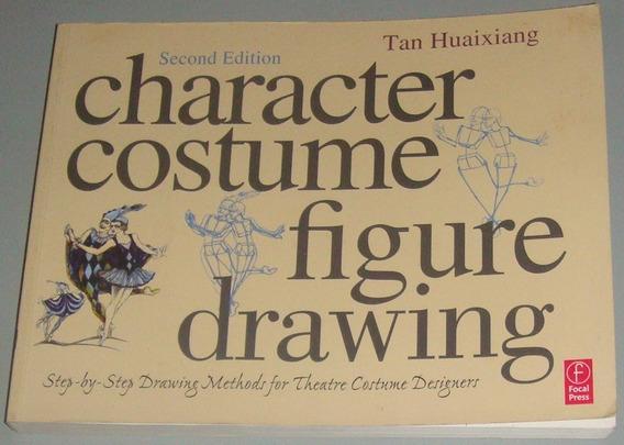 Moda - Livro Character Costume Figure Drawing ( Inglês )