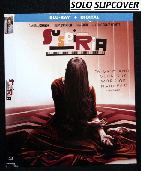 *leer Descripcion* Suspiria -solo Slipcover-