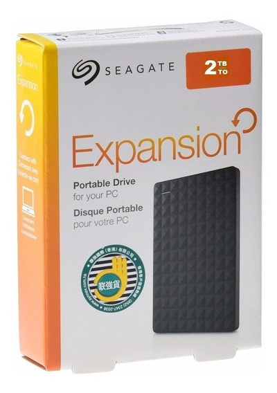 Hd Externo Seagate 2tb Expansion Usb 3.0/2.0 Ps4 Xbox + Nota