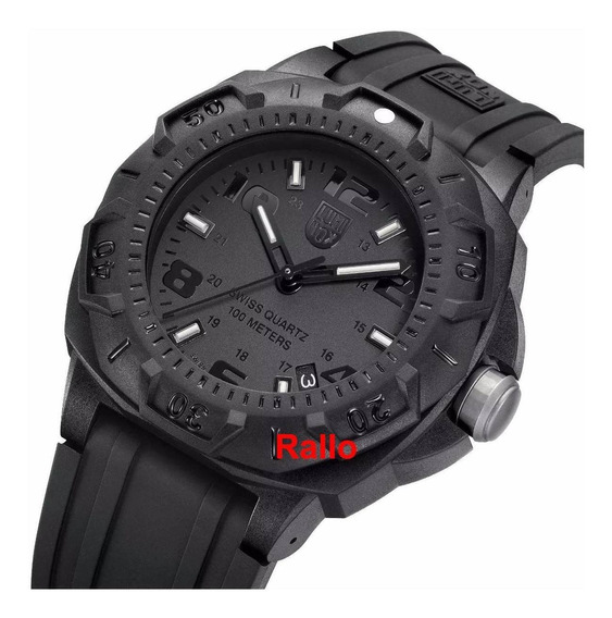 Luminox Carbon Sentry Blackout 0201.bo Swiss Made